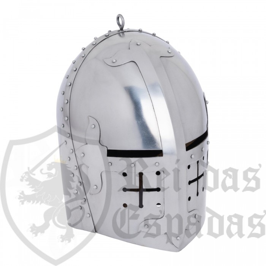 Yelmo medieval inglés Pembridge