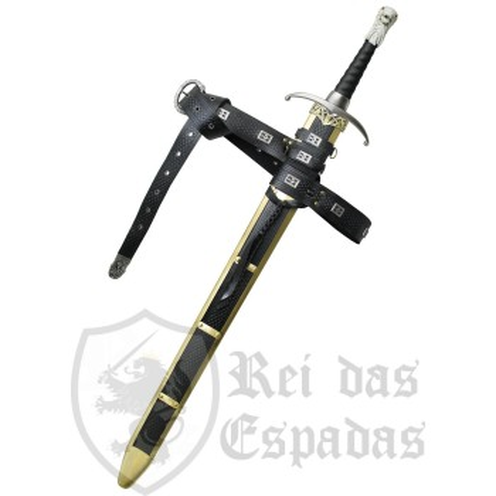 Bainha com cinto Oficial para Espada Longclaw , Game of Thrones