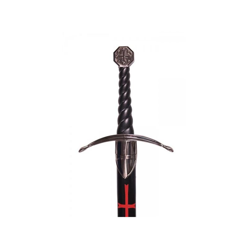 Espada Templária com bainha - 3