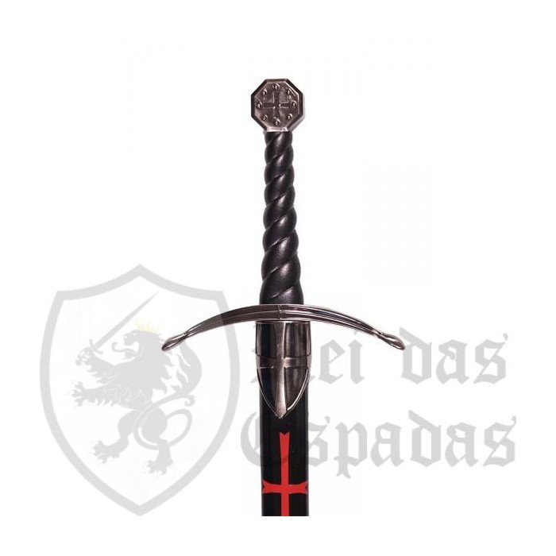 Templar sword with sheath - 3