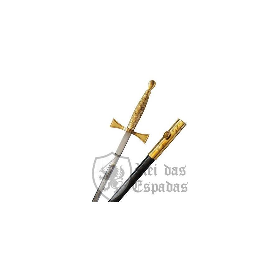 Espada Maçônica com bainha