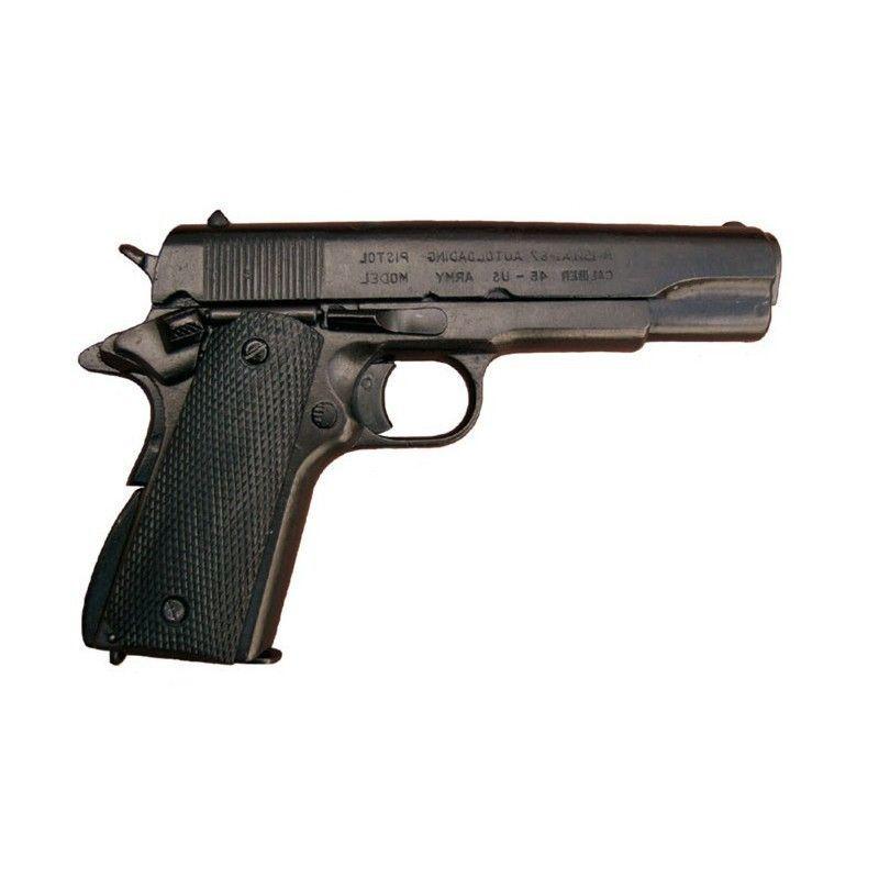 Pistola Colt .45 em preto,modelo1 - 1