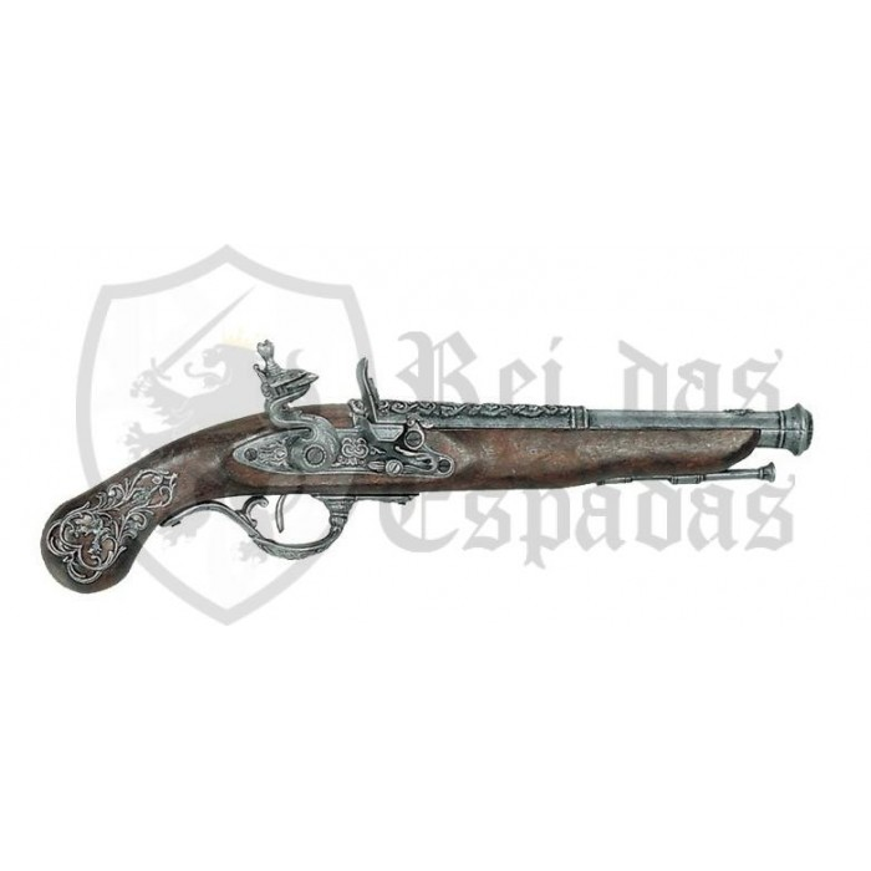 English Pistol, 18th century - 1