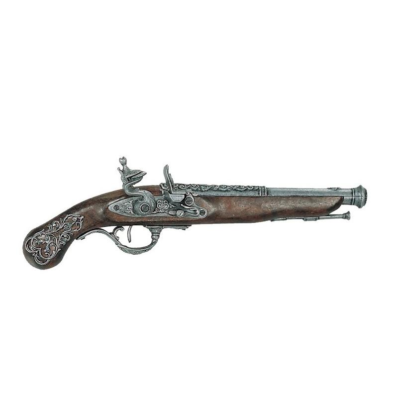 Pistola inglesa, siglo XVIII - 1