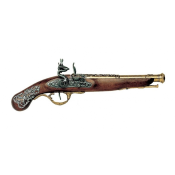 Pistola Inglesa, século XVIII