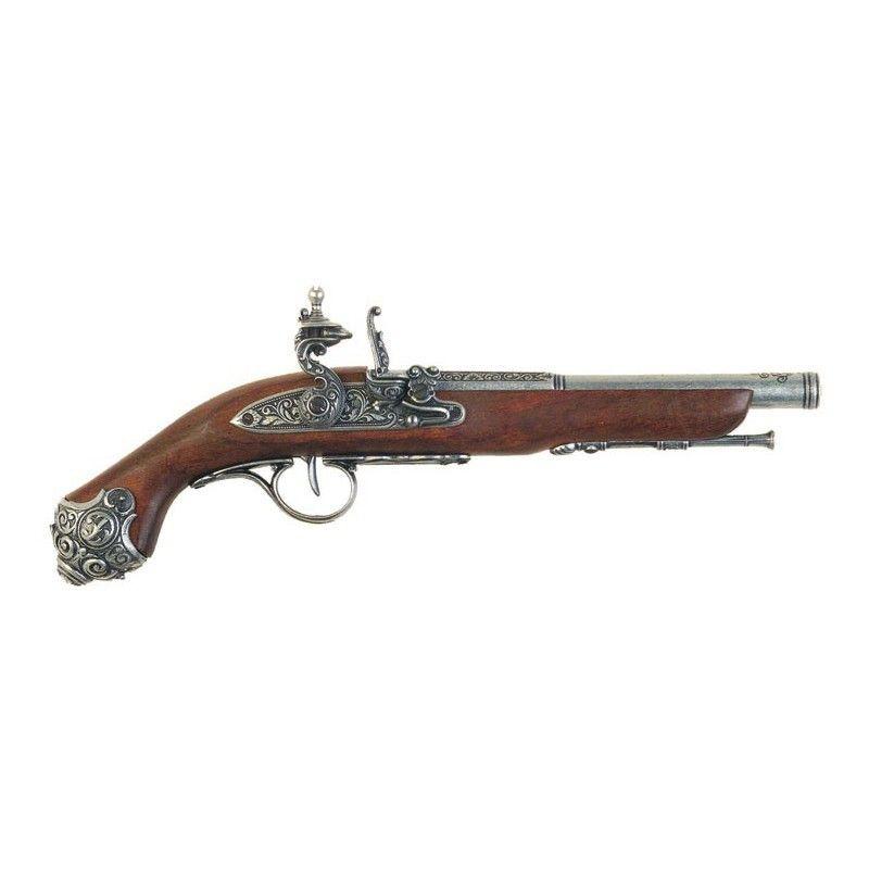 Flintlock Pistol , 18th century - 1