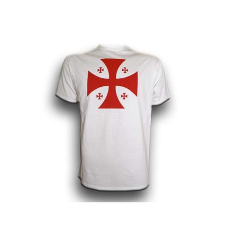 Black T-Shirt with the Templar Cross