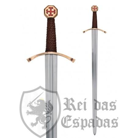 Espada templaria con vaina