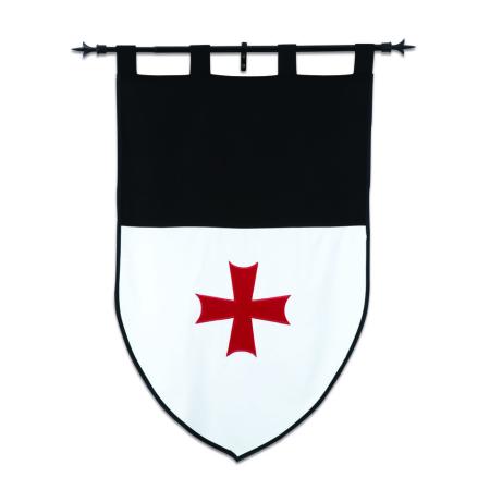 Estandarte Caballeros Templarios