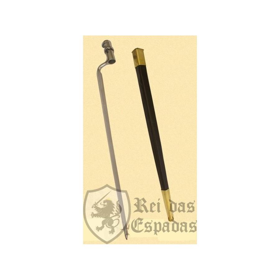 Baioneta Enfield com bainha