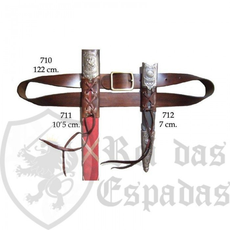 Cinto para espada e punhal - 1