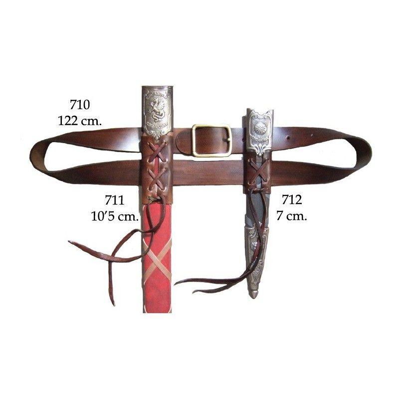 Ceinture d'épée et dague - 1