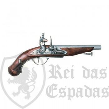 18th century French pirate pistol
