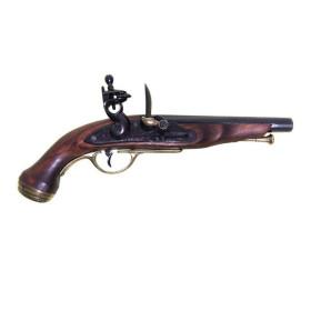 Pistola marinha francesa, do século XVIII
