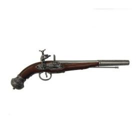 Pistola Russa prateada, século XIX - 1