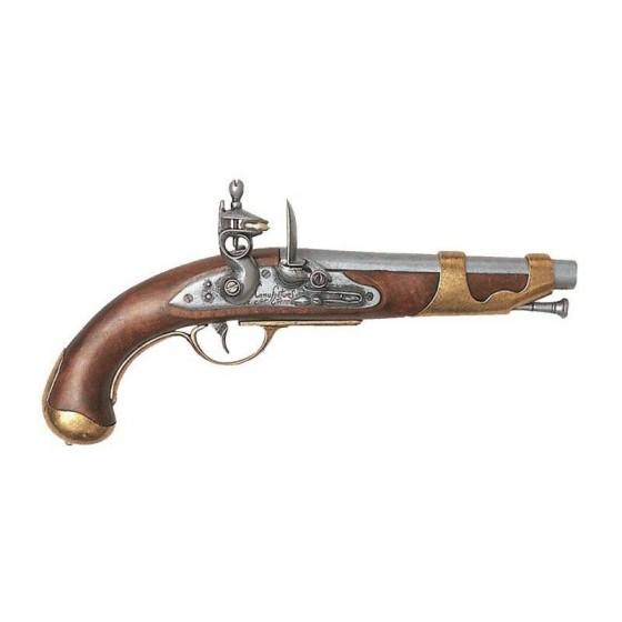 Pistola de cavalaria francesa, 1800