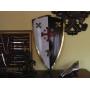 Escudo Templários Jesuralem - 2