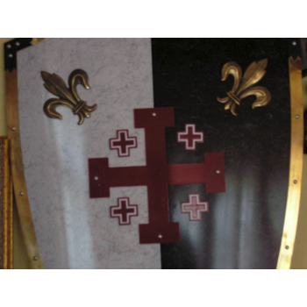 Escudo Templarios Santo - 4