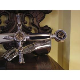 Espada Maçonica sem bainha - 10