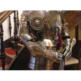 16th-century engraved armor - 6