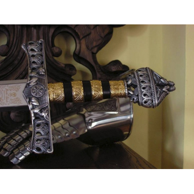 Sword Fryderyk Barbarossa Silver - 2