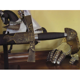 Sword Ivanhoe with sheath - 4