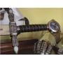 Espada Maçónica Prata sem bainha - 3