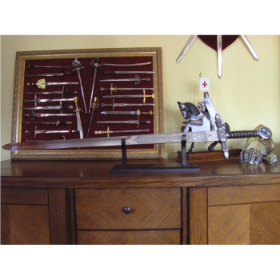 Espada Maçónica Prata sem bainha - 5