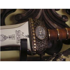 Espada Gladius Júlio César em Bronze sem bainha - 6