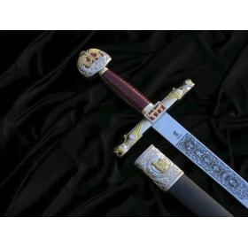 Espada Carlos Magno com bainha - 4