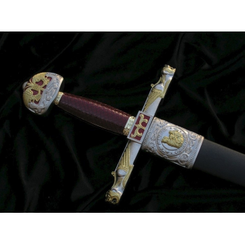 Charlemagne Sword with sheath - 5