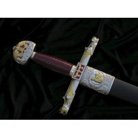 Épée de Charlemagne avec gaine - 5