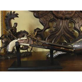 Canons de pistolet d'Angleterre 2, année 1750 - 2