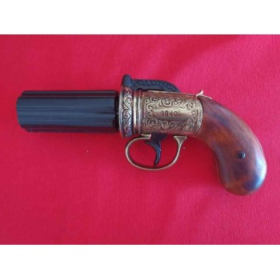 Pistola pimenta , dourado - 2