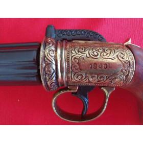 Pistola pimenta , dourado - 3