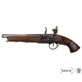 Pistola de chispa, siglo XIX. (Mano izquierda) - 1