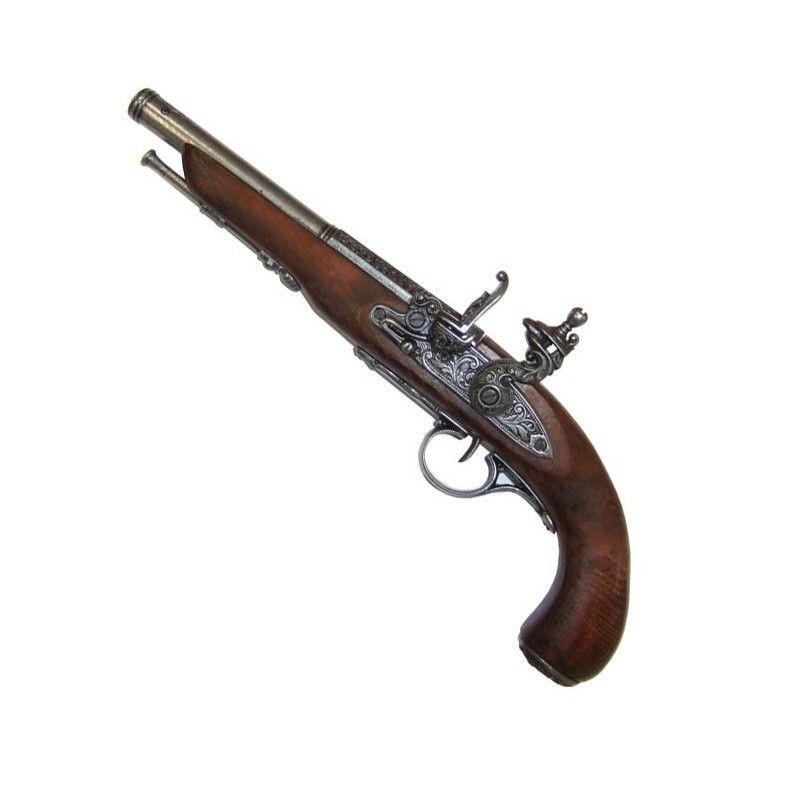 Pistola Flintlock, século XIX. (Mão esquerda), modelo 2 - 1