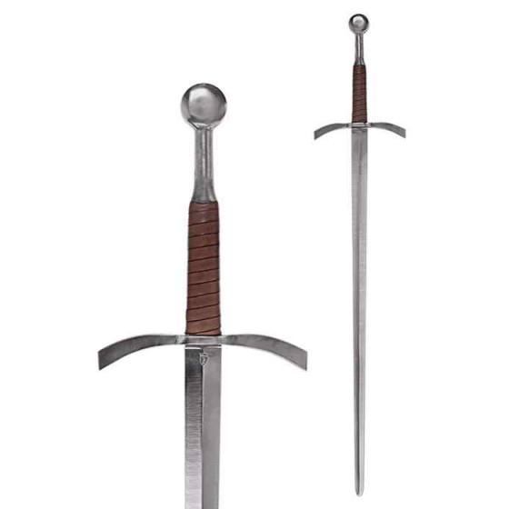 Espada longa para praticar esgrima