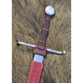 Espada de combate de mão e meia