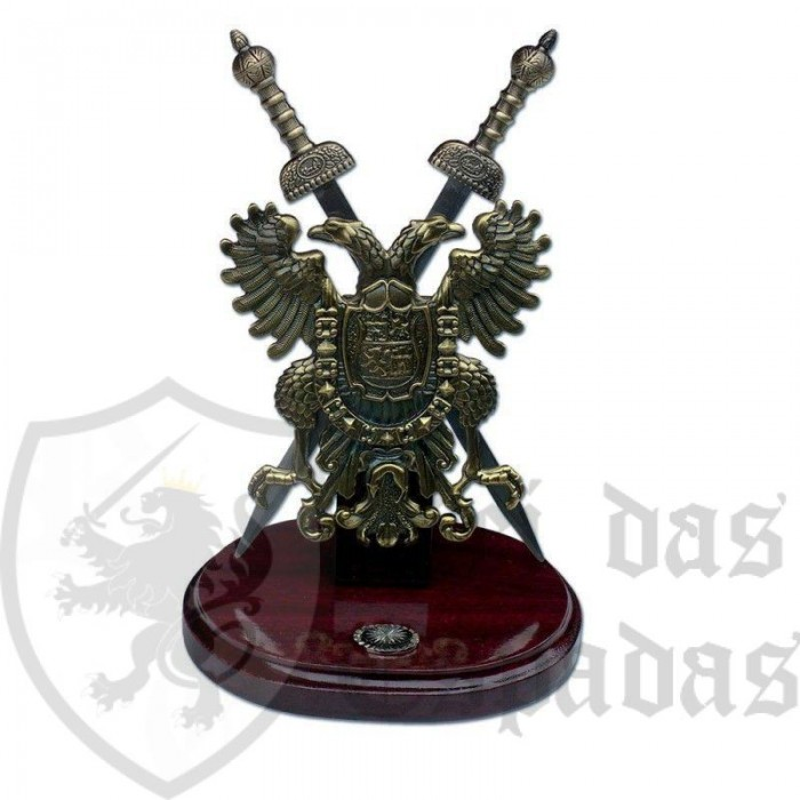 Escudo con espadas gladius 2 - 1