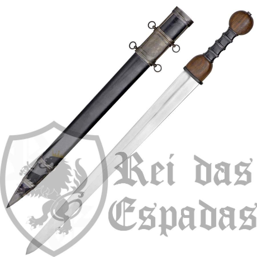 Espada Romana Gladius com bainha da marca John Barnett