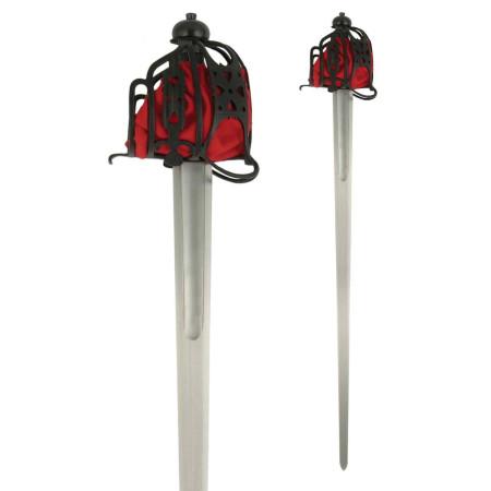 Espada cesta de lazo para prácticas