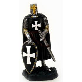 Cavaleiro Templário, em resina de alta qualidade, 10x20cm - 2
