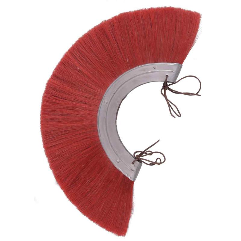 Penacho casco romano rojo