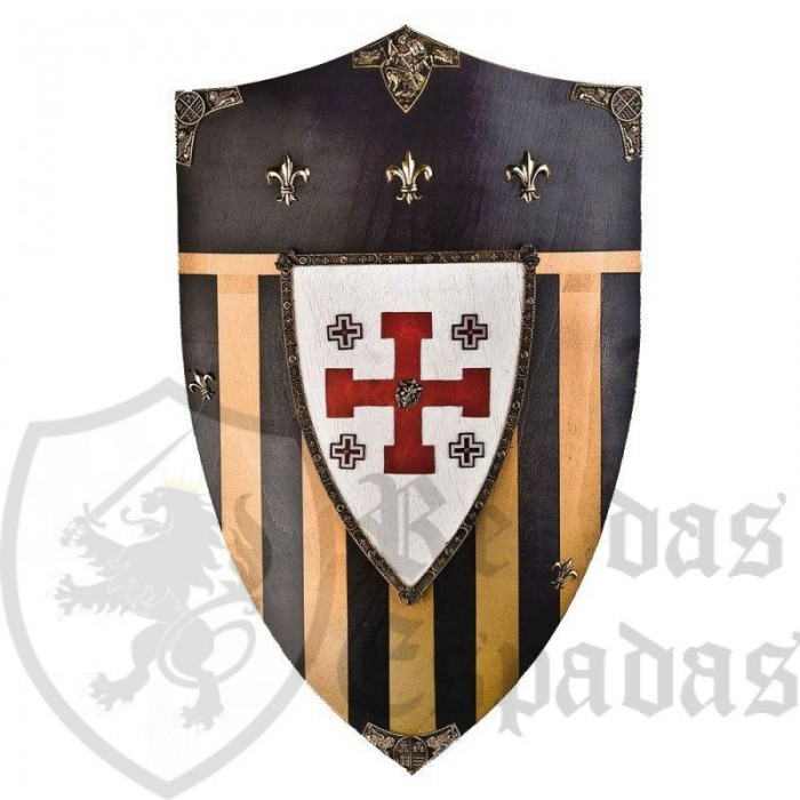 Escudo Templario Cavaleiros do Jerusalém