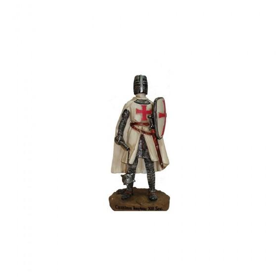 Cavaleiro Templário em resina