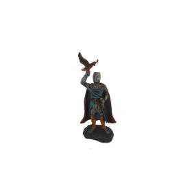 Caballero medieval en resina - 1