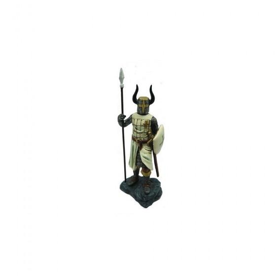 Cavaleiro Templario em resina