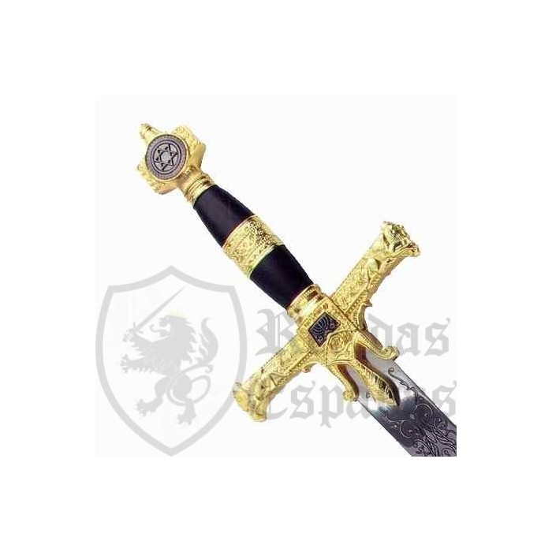 Espada del rey Salomón cadete - 2