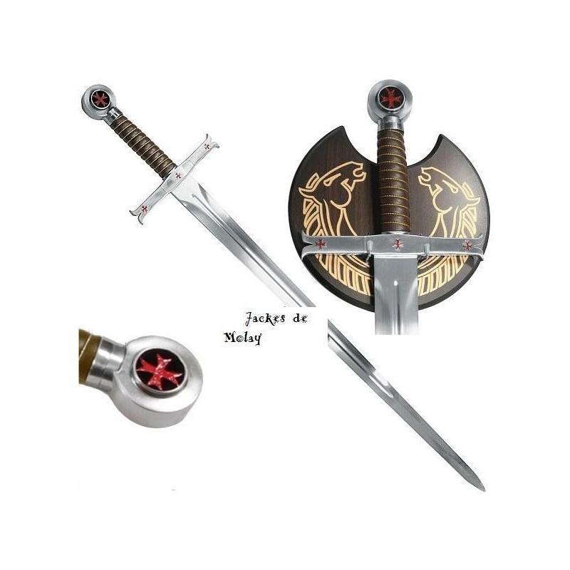 Espada templaria Jacques de Molay - 1